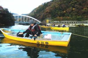 ワカサギボート釣り