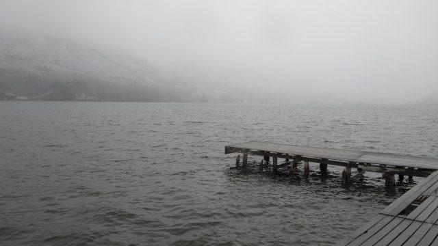 木崎湖のワカサギ釣り