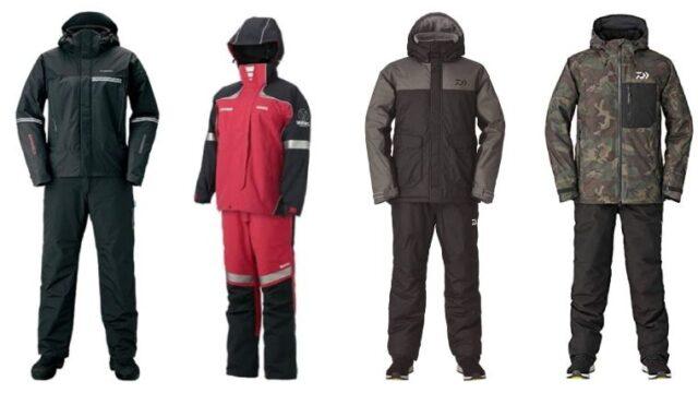 釣り専用防寒スーツのおすすめの画像