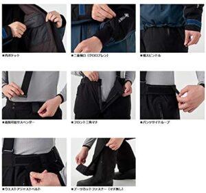 防寒スーツの機能説明の画像